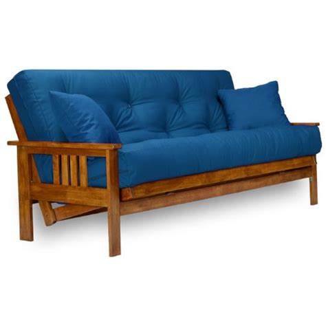 unfinished wood futon frame stanford futon frame full size solid wood home