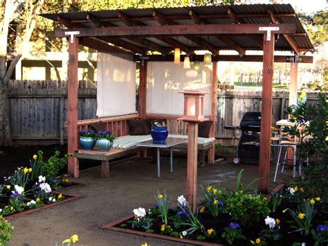 diy garden pergola pergolas and other outdoor structures diy shed pergola