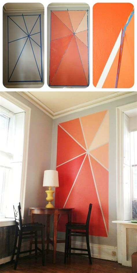 paint on walls 40 easy wall painting designs