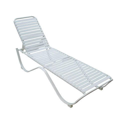 aluminum chaise lounge shop garden treasures strap aluminum patio chaise lounge