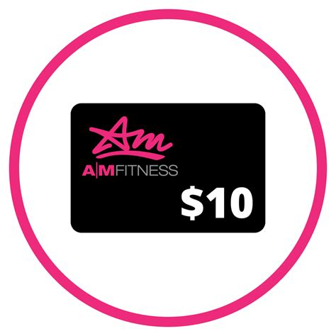 Gym Gift Cards - referral program a m fitness