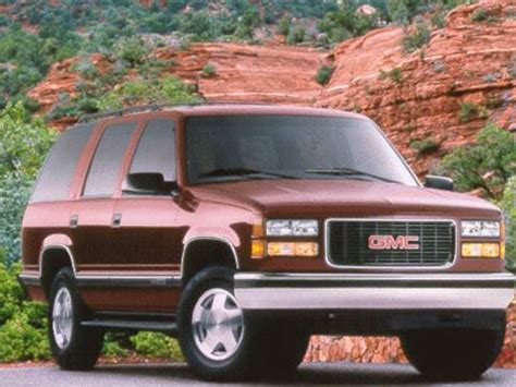 blue book value for used cars 1999 gmc safari user handbook 1999 gmc yukon pricing ratings reviews kelley blue book