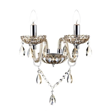 Chandelier Wall Traditional Chandelier Style Wall Light In Chagne Gold Glass