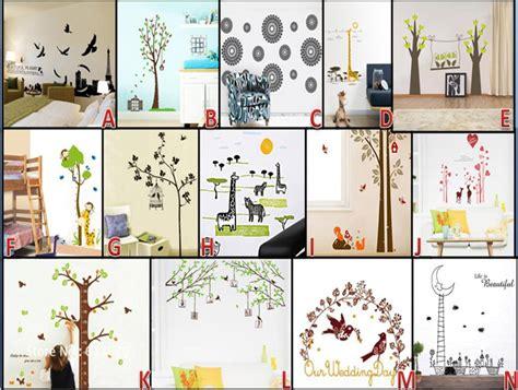 Murah Meriah Menjual Beraneka Wallpaper Sticker sticker dinding home design idea