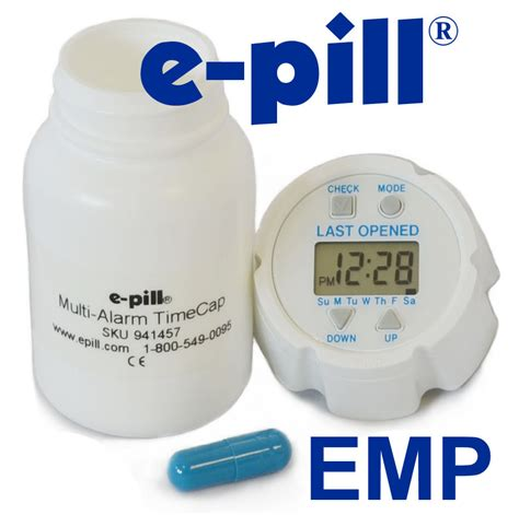 Med E Monitor Device Updates The Pillbox by Electronic Medication Packaging Emp And Electronic