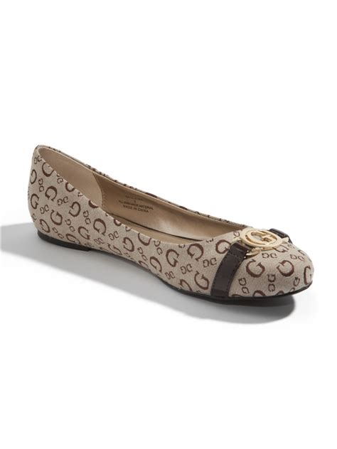 guess shoes flats guess claira ballet flats ebay