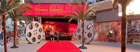 madame tussauds hollywood wax museum los angeles ca