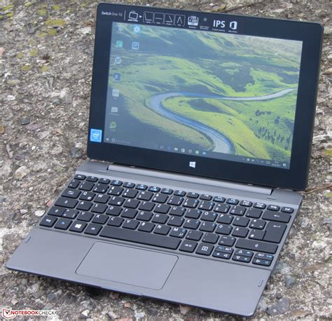 Notebook Aspire One 10 acer aspire switch one 10 sw1 011 14uq notebook review