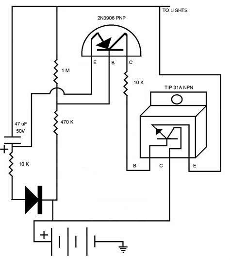 narva driving light wiring diagram with relay