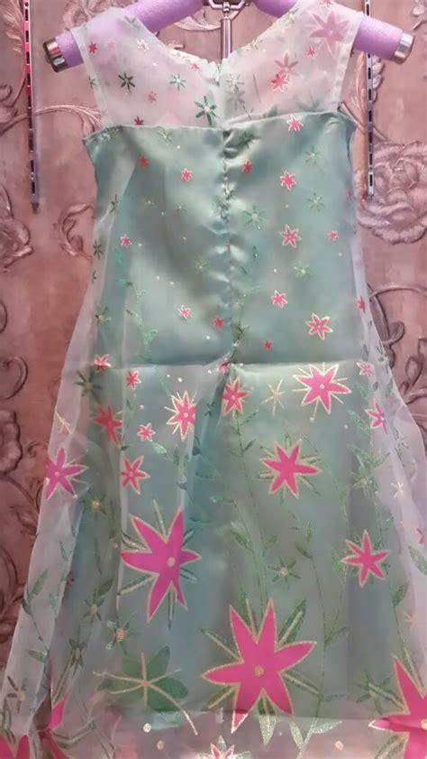 Baju Dress Frozen jual baju dress kostum elsa frozen fever anak import bagus