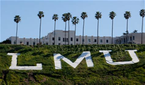 Lmu Mba Academic Calendar by Lmu Graduate Programs Rise In U S News Rankings Lmu