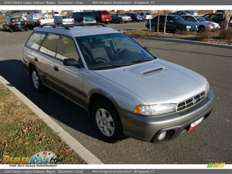 1999 subaru legacy wagon 1999 subaru legacy outback wagon quicksilver gray photo