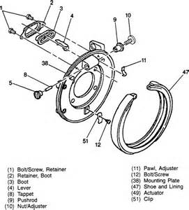 Service Brake System Bravada Depress Rear Brake Caliber 2000 Bravada Yahoo Answers