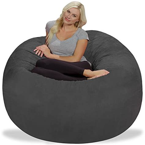 Memory Foam Bean Bag Chair by Chill Sack Bean Bag Chair 5 Memory Foam Furniture