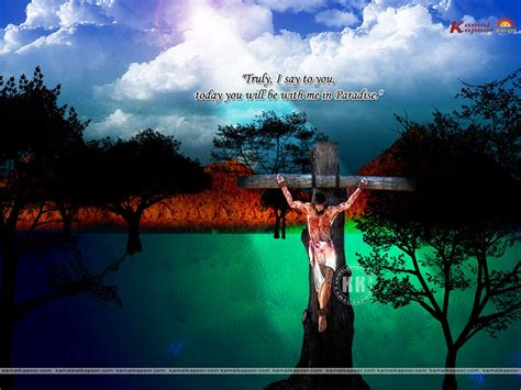 gambar fotoshop keren yesus  salib wallpaper kristiani