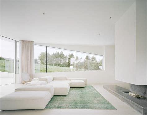 beautiful houses pure white interior design futuristic villa in vienna