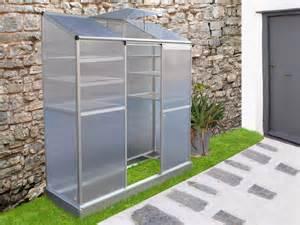 mini serre de jardin ou balcon polycarbonate quot capucine quot 1