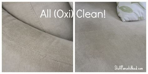oxiclean upholstery how to clean a couch with oxiclean stain