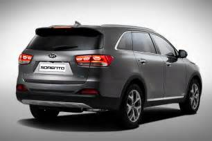 2015 kia sorento detailed confirmed for motor show