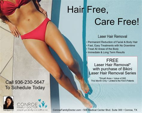 Perontok Bulu House Dr Ten Munite Removal Hair conroe family doctor free laser hair removal with purchase of