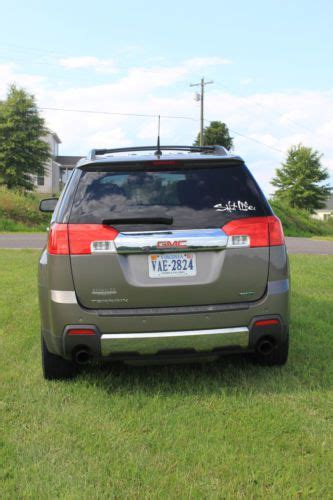 gmc terrain slt2 for sale buy used gmc terrain slt2 v6 fwd in excellent condition in