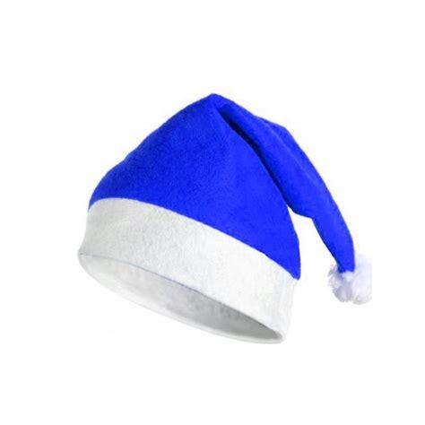 imagenes santa claus azul gorro de navidad azul