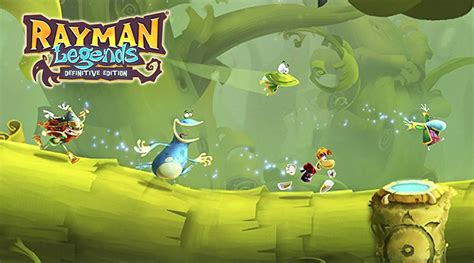 Kaset Nintendo Switch Rayman Legends Definitive Edition rayman legends definitive edition coming to nintendo switch on september 12 2017 handheld players
