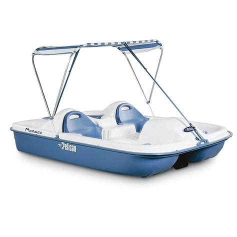 pelican inflatable boats pelican 174 monaco dlx pedal boat 181581 small craft