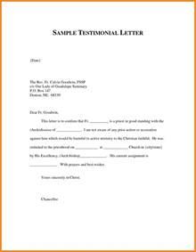 testimonial letter template letter template 2017