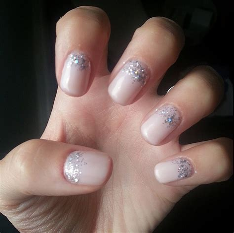 Wedding nails!! CND shellac in 'Romantique' with an OPI