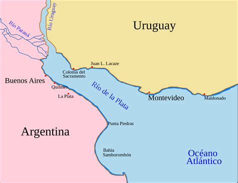 south america map buenos aires file plata buenos aires montevideo map svg wikimedia commons