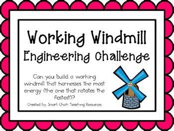 working windmill engineering challenge project great stem activity stem activities