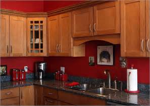 red cabinet kitchen red kitchen color with natural color cabinets terrys fabricss