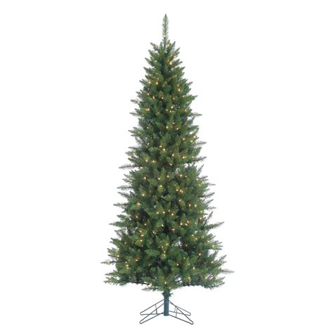 sterling 7 5 ft indoor pre lit narrow nordic fir