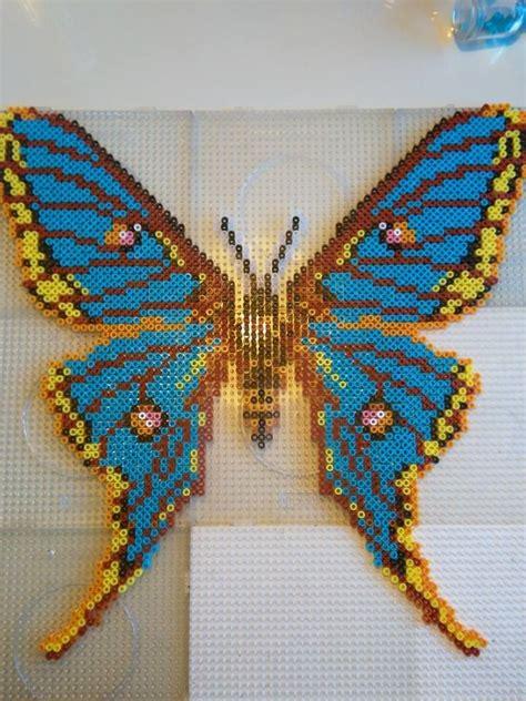 perler butterfly hama perler bead butterfly perler bead designs