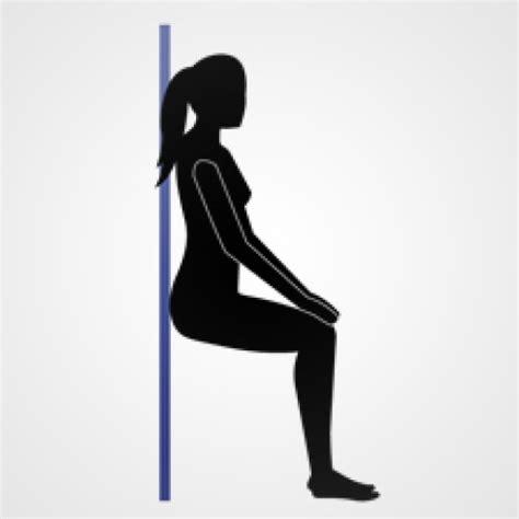 exercice de la chaise exercice fessier avec une chaise