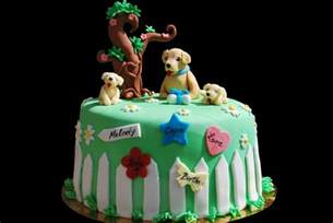 golden retriever cake cakecentral com