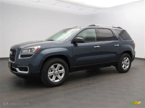 2013 atlantis blue metallic gmc acadia sle 83935308 gtcarlot car color galleries