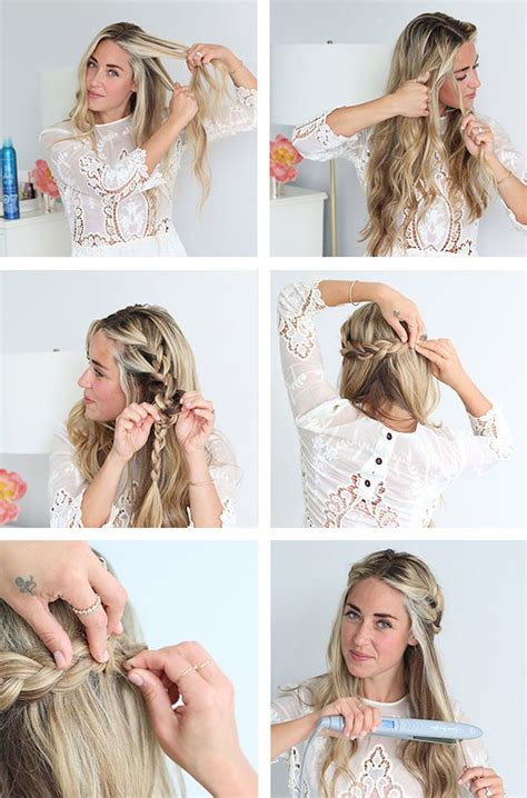 new braid tutorial the high braided crown hairstyle new braid tutorial the high braided crown hairstyle