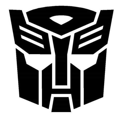 Autobot Decals by Vinyl Decal Transformers Autobot Badge