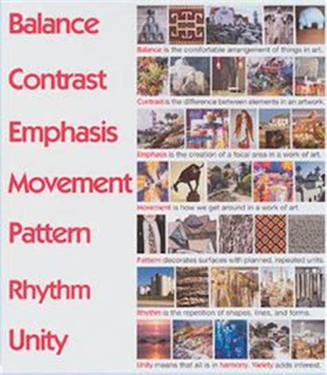 unity matrix layout principles of design printables pattern emphasis