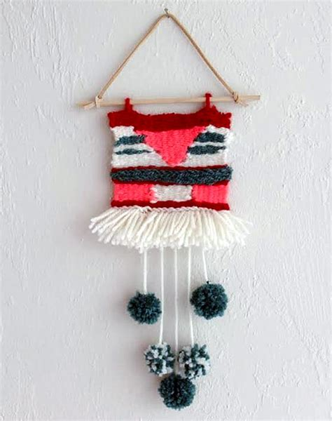 Handmade Wall Hangers - 8 simple diy wall hangings