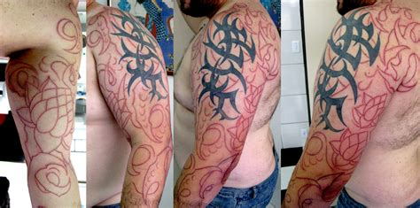 tribal tattoos sleeves tribal sleeve tattoos check out these cool tribal sleeves