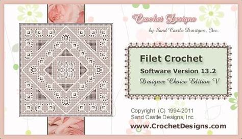 crochet pattern design software crochet pattern software manet for