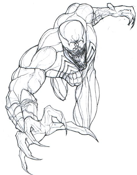 Drawing Venom by How To Draw And Venom Fighting
