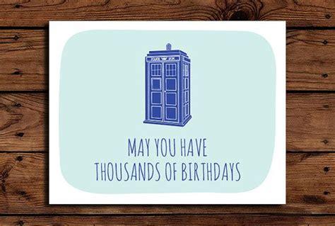 Doctor Who Birthday Card Doctor Who Birthday Card Template