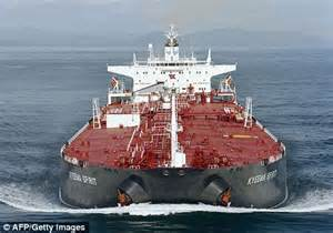 biggest water vessel in the world oil tankers at world s largest shipping company to make