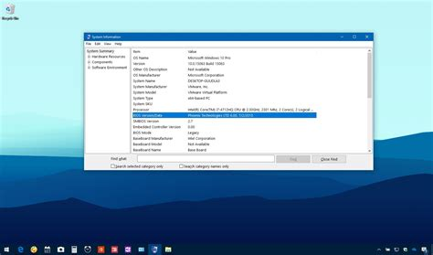 most up to date windows 10 version how to check your pc s bios version on windows 10 pureinfotech