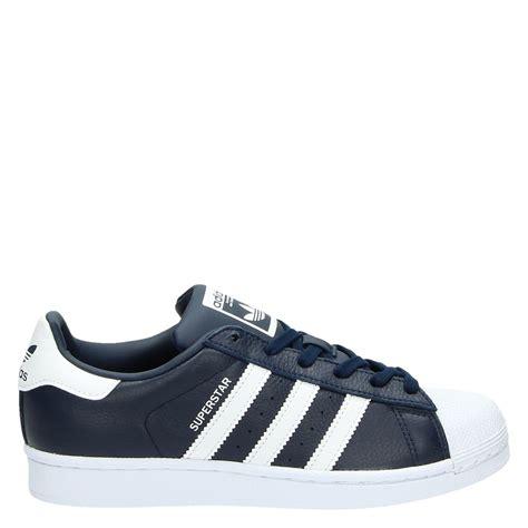 Adidas Superstar Unisex adidas uni lage sneakers blauw