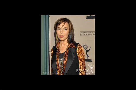 lauren koslow hairstyles through the years patricia barry at the 45 years of days of our lives event